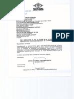Resolución de la Procuraduría sobre antecedentes a ciudadanos venezolanos