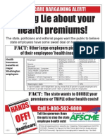 The BIG LIE about your health premiums!