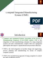 Grp2 Seminar Computer Integrated Manufacturing