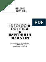 AHRWEILER Helene Ideologia Politica a Imperiului Bizantin