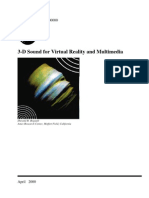 3D Sound for Virtual Reality and Multimedia - Durand R. Begault
