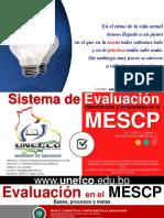 5. Curso Evaluacion en El Mescp 2017