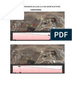 Reporte de La Topografía de La Mz 4 Lt 3 Del Distrito de Oyón