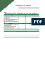 Lista de Cotejo Practica de Laboratorio