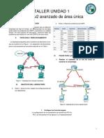 TALLERproblemas de OSPFv2 Avanzado de Area Unica