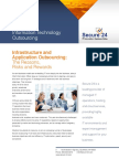 Secure 24 Key Drivers for IT Outsourcing Executive Brief