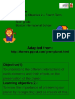 6th Science 4th Term Learning Objective 2