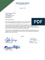 Bakari Henderson Letter to Secretary of State Rex Tillerson