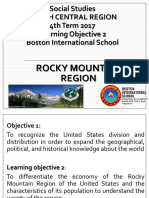 6th Social Studies Learning Objective 2