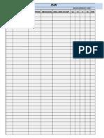 Jsw Measurement Sheet