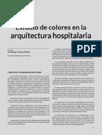 Estudio de Colores en La Arquitectura Hospitalaria