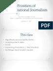 Computational Journalism 2017 Week 7