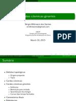 Seminario Cordas Cosmicas Girantes 2015-03-10