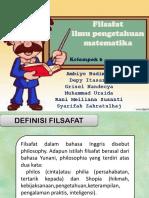 FILSAFAT MATEMATIKA