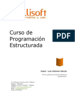 Aprende programación estructurada