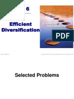 6Diversification Problems