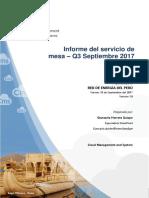 Informe Servicio de Mesa Q3 QA
