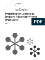 Advanced Writing 2015_Handout