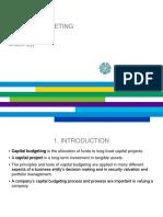 Capital Budgeting Basics