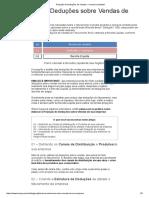 Projeção de Deduções de Vendas_ o Manual Completo!