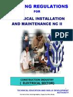 TR Elec Install and Maintenance NC II