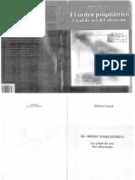 Robert Castel - El Orden Psiquiátrico
