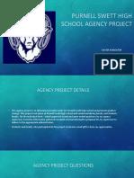 purnell swett high school agency project