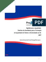 Pro-equality agindo_igualdade