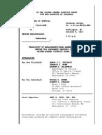 GP arraignment/plea agreement hearing