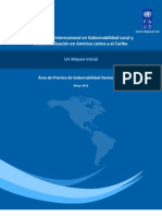 Cooperación Internacional en Gobernabilidad Local y Descentralización en América Latina y el Caribe