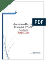 Report-Operational Service Blueprint