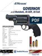 Smith & Wesson Governor Revolver Specifications