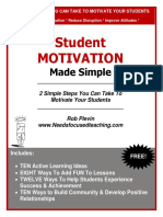 Motivation Made Simple Free Report