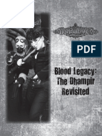 Unhallowed Metropolis- Blood Legacy- The Dhampir Revisited