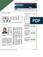 Pro Tools 8 - TEST