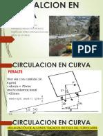circulacion en curva