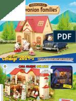 Catalogo Sylvanian 2014