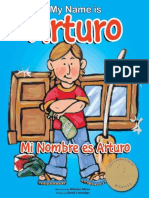 My Name is Arturo Mi Nombre Es Arturo