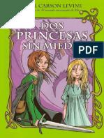 Dos Princesas Sin Miedo. Gail Carson.epub