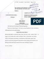 Carlos Bell Federal Charges