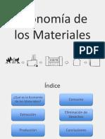 economia materiales