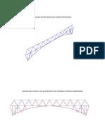 Grafica de Deflexion Del Puente Por Nodos y Reacciones