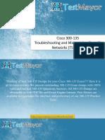 300-135 TSHOOT Practice Exam - 300-135 Practice Test