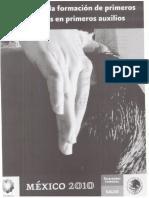Manual Primeros Respondientes 2013