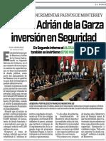 31-10-17 Destaca Adrián de la Garza  inversión en Seguridad