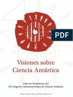 Libro de Resúmenes del IX Congreso Latinoamericano de Ciencias Antárticas - Chile 2017