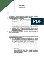 Clinica Medica 2 Segundo Modulo Diogo Araujo