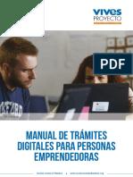 Guia Vives Proyecto Tramites Digitales Para Emprender