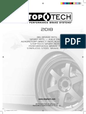 Stoptech Catalog via BuyBrakes com Free PDF Catalog | Brake