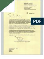 Fallon Resignation